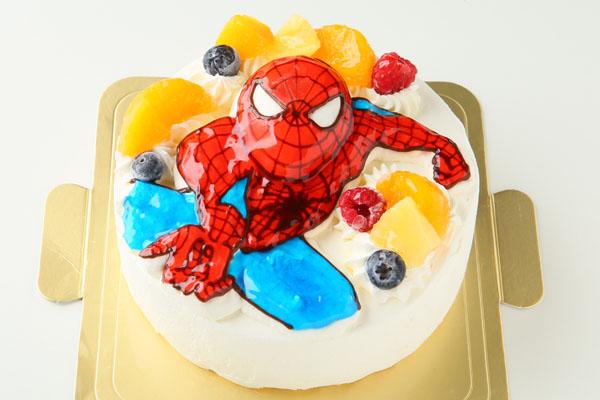 立体生クリームデコレーションケーキ