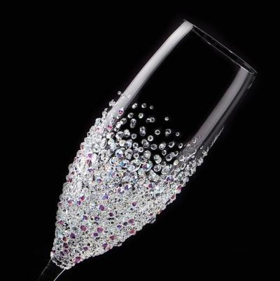 シャンパングラス バブルシャワー 結婚祝い・誕生日プレゼント・デコグラスの画像1枚目