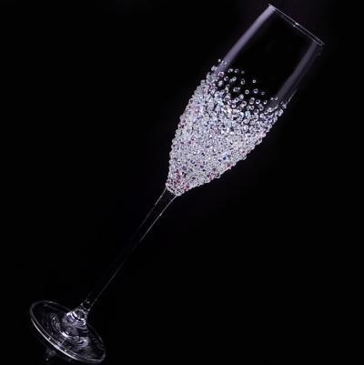 シャンパングラス バブルシャワー 結婚祝い・誕生日プレゼント・デコグラスの画像2枚目