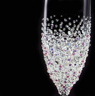 シャンパングラス バブルシャワー 結婚祝い・誕生日プレゼント・デコグラスの画像3枚目