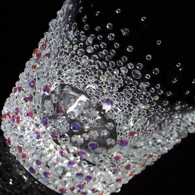 ロックグラス バブルシャワー 結婚祝い・誕生日プレゼント・デコグラスの画像3枚目
