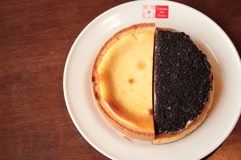 ハーフ&ハーフチーズケーキ6号(18cm)