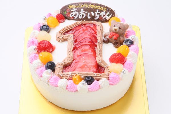 数字ケーキ 5号 15cmの画像2枚目