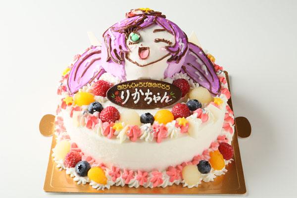 立体3Dケーキ 8号 24cmの画像4枚目