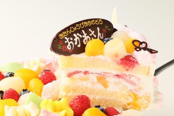 お花畑のケーキ 6号 18cmの画像3枚目