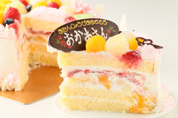お花畑のケーキ 6号 18cmの画像5枚目