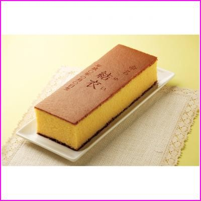 【16個以上名入れ無料】和泉屋 創作長崎カステラ蜂蜜1.0号(化粧箱入) (71920602)