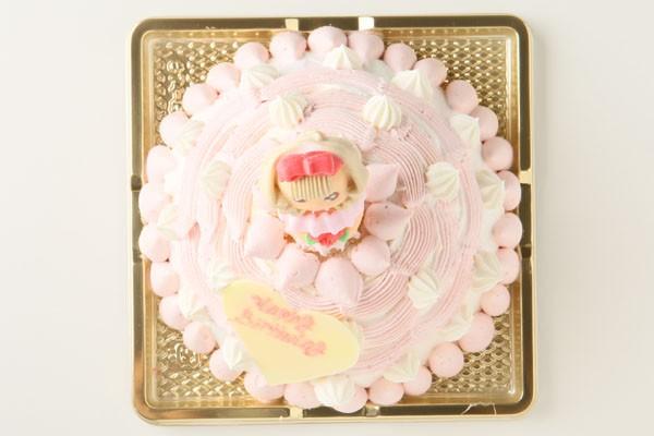 プリンセスケーキ苺のアイスケーキ 5号 15cmの画像2枚目