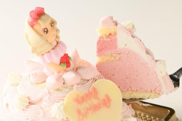 プリンセスケーキ苺のアイスケーキ 5号 15cmの画像3枚目
