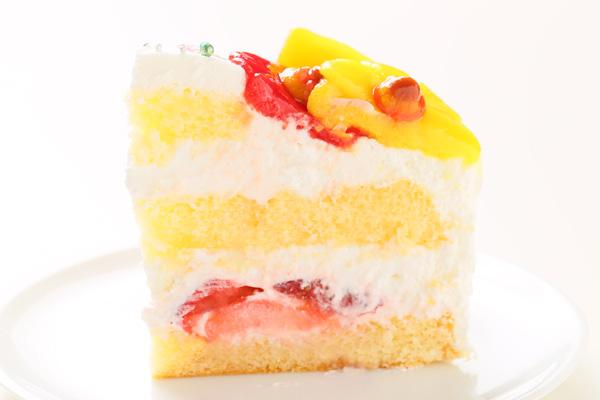 乳製品除去 デコもり。Happy 1st birthdaycake 豆乳クリーム 4号 12cmの画像4枚目