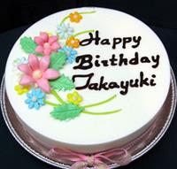 ジェラートケーキ 花束 5号 15cm