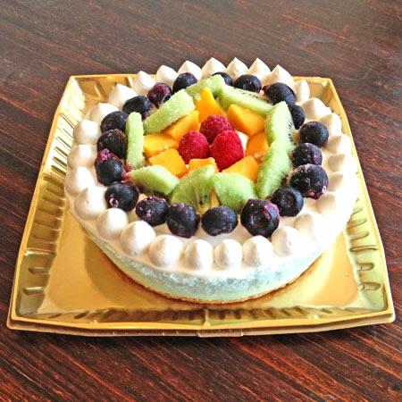たっぷりフルーツのレインボーアイスケーキ 4号 12㎝
