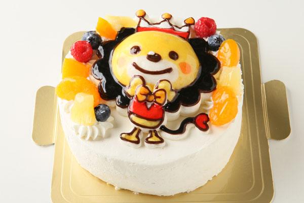立体生クリームデコレーションケーキ 5号 15cm