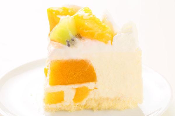 さっぱりレアチーズとマンゴーのアイスケーキ 4号 12cmの画像4枚目