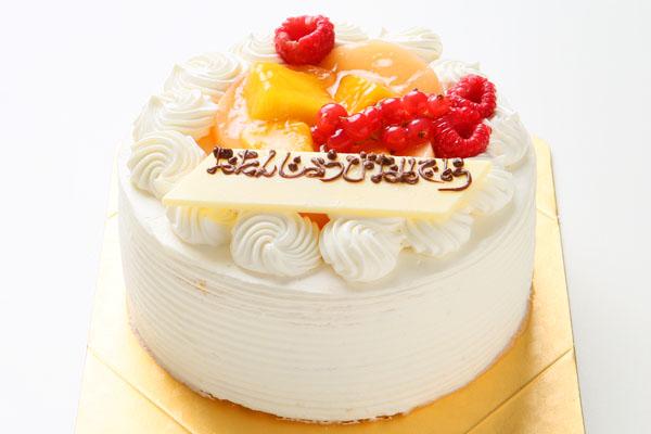 生デコレーションケーキ 5号 15cm