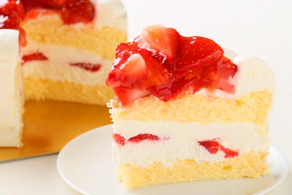 苺盛りデコレーションケーキ 4号 12cmの画像5枚目