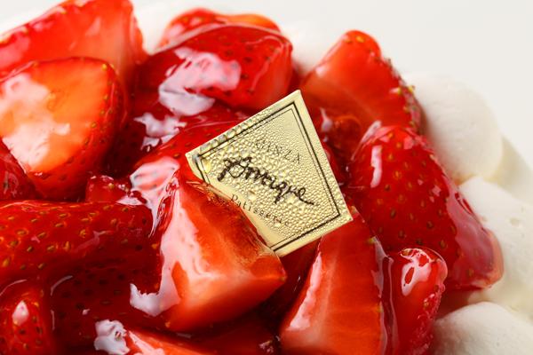 苺盛りデコレーションケーキ 4号 12cmの画像6枚目