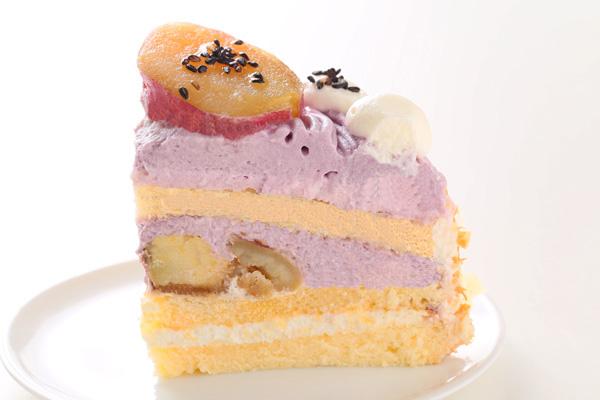 季節限定 特選 紫芋のモンブラン 4号 12cmの画像4枚目