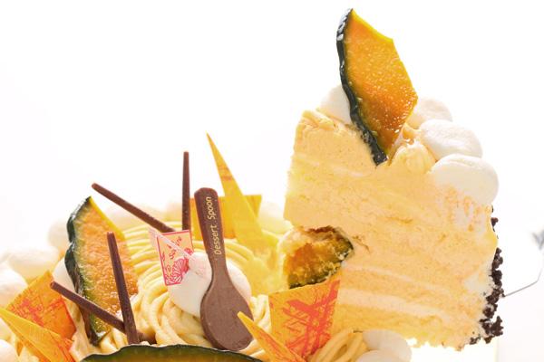 季節限定 特選 かぼちゃのモンブラン 4号 12cmの画像3枚目