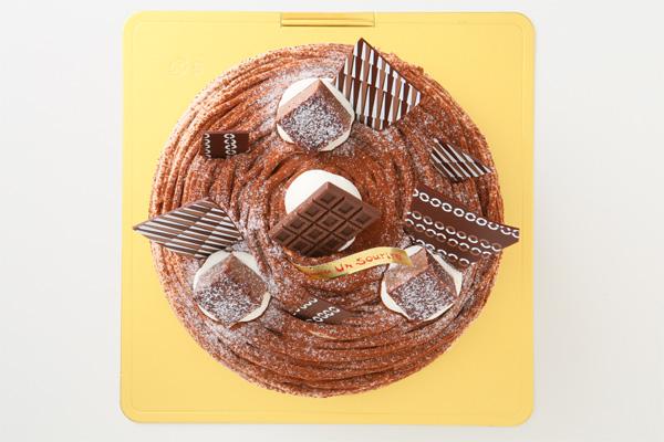 特選 生チョコのモンブラン 4号 12cmの画像2枚目