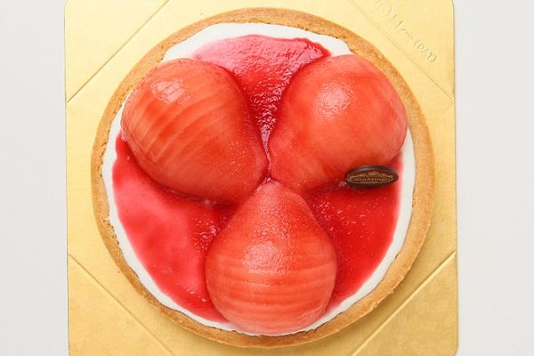 最高級洋菓子 洋なしのチーズタルト 16cmの画像2枚目