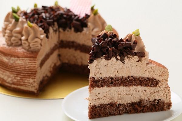 ショコラケーキ 5号 15cmの画像5枚目
