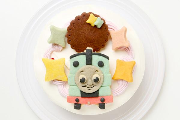 キャラクタークッキーのデコレーションケーキ 4号 12cmの画像2枚目