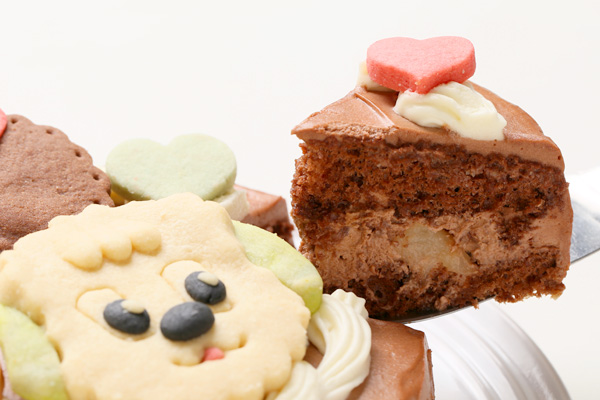 キャラクタークッキーのデコレーションケーキ 4号 12cmの画像11枚目