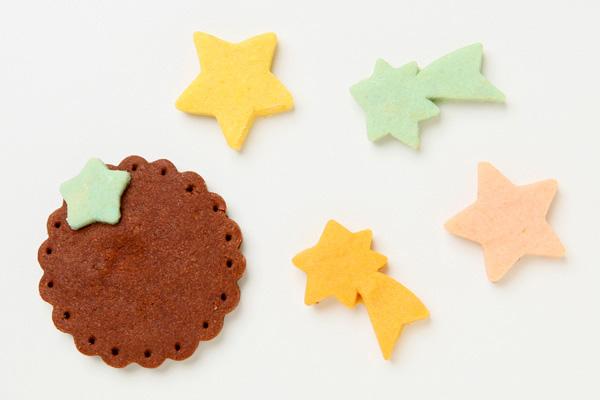 キャラクタークッキーのデコレーションケーキ 4号 12cmの画像15枚目