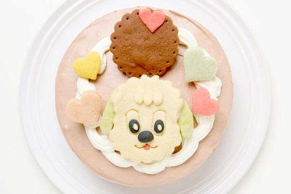 キャラクタークッキーのデコレーションケーキ 4号 12cmの画像4枚目