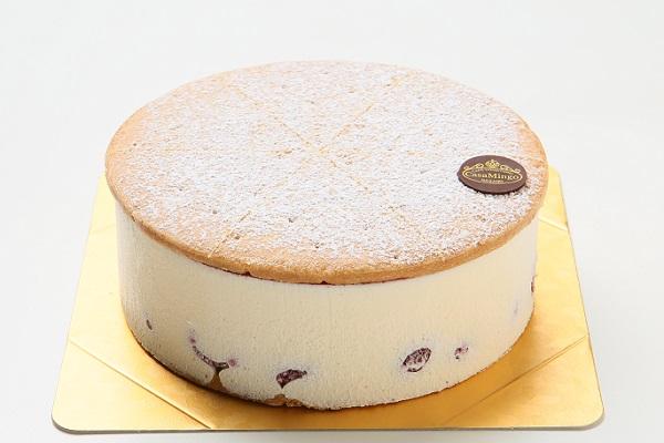 最高級洋菓子 ケーゼザーネトルテ レアチーズケーキ 12cmの画像1枚目