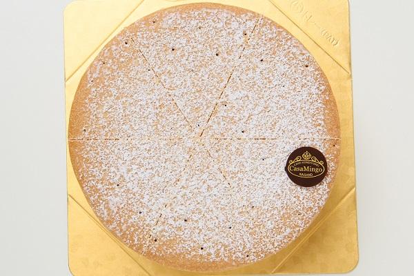 最高級洋菓子 ケーゼザーネトルテ レアチーズケーキ 12cmの画像2枚目