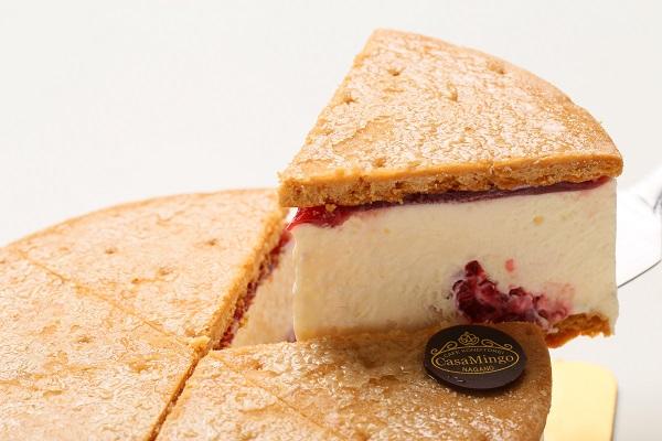 最高級洋菓子 ケーゼザーネトルテ レアチーズケーキ 12cmの画像3枚目