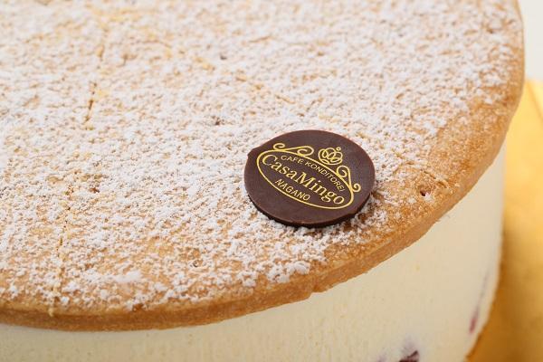 最高級洋菓子 ケーゼザーネトルテ レアチーズケーキ 12cmの画像8枚目