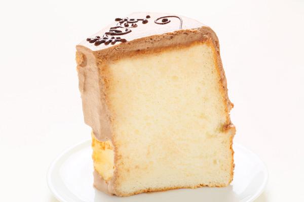 お手紙ケーキ チョコ生クリーム 愛、感謝、お礼、思いをのせて 直径17cmの画像4枚目