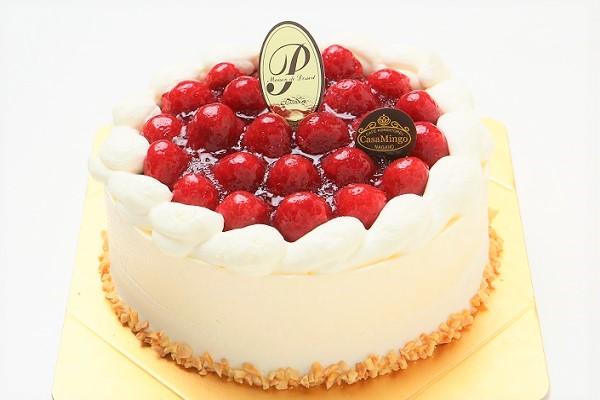 最高級洋菓子 シュス木苺レアチーズケーキ 15cm & ウィーンの銘菓ザッハトルテ 12cm セットの画像2枚目