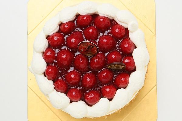 最高級洋菓子 シュス木苺レアチーズケーキ12cm【メッセージプレートなし】の画像6枚目