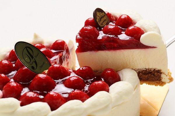 最高級洋菓子 シュス木苺レアチーズケーキ12cm【メッセージプレートなし】の画像7枚目