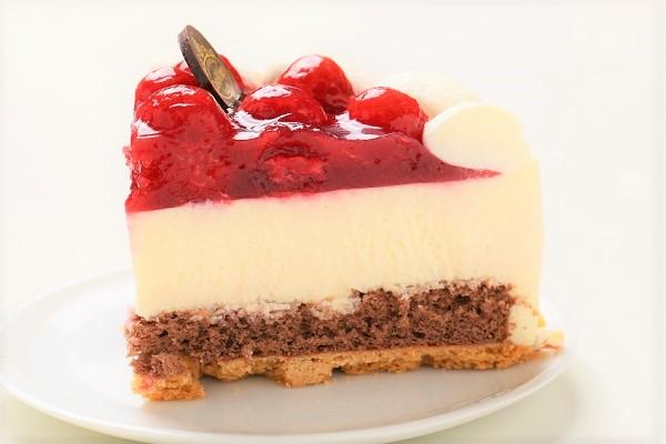 最高級洋菓子 シュス木苺レアチーズケーキ 15cmの画像4枚目