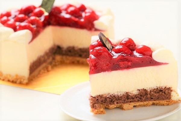 最高級洋菓子 シュス木苺レアチーズケーキ 15cmの画像5枚目