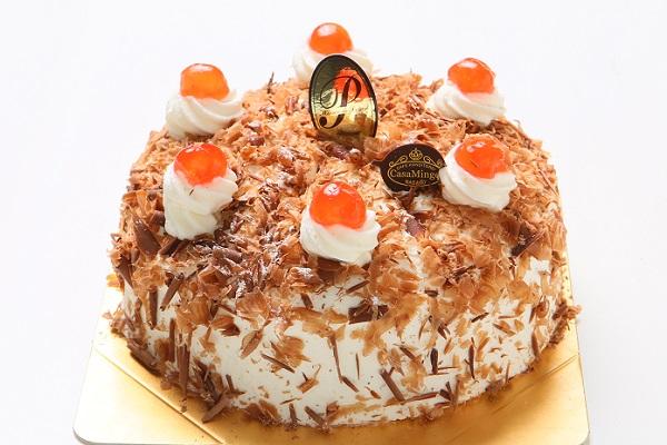最高級洋菓子 シュヴァルツベルダーキルシュトルテ 15cmの画像1枚目