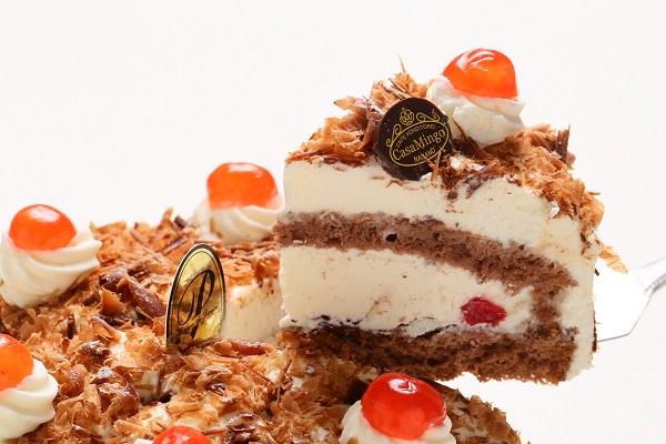 最高級洋菓子 シュヴァルツベルダーキルシュトルテ 15cm & シュス木苺レアチーズケーキ 15cm セットの画像9枚目