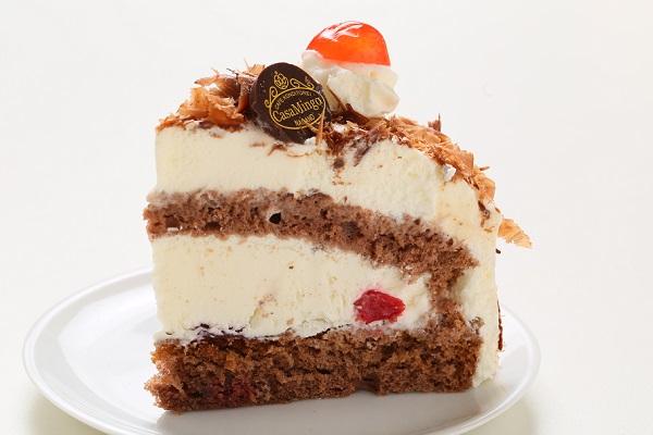 最高級洋菓子 シュヴァルツベルダーキルシュトルテ 15cm & シュス木苺レアチーズケーキ 15cm セットの画像10枚目