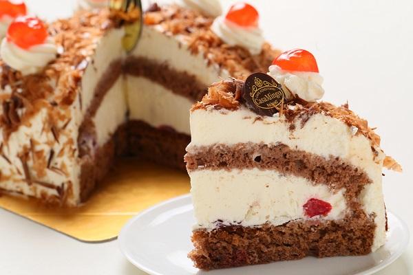 最高級洋菓子 シュヴァルツベルダーキルシュトルテ 15cm & シュス木苺レアチーズケーキ 15cm セットの画像11枚目