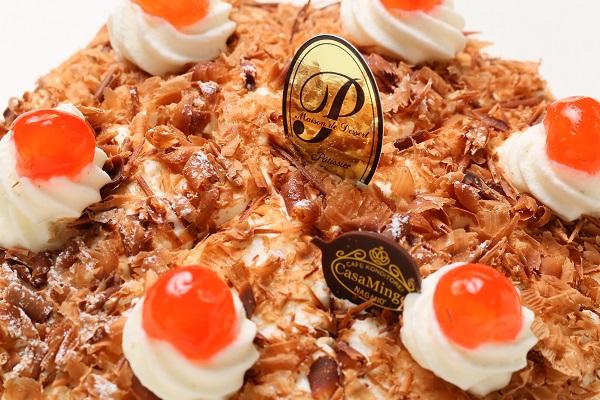 最高級洋菓子 シュヴァルツベルダーキルシュトルテ 15cm & シュス木苺レアチーズケーキ 15cm セットの画像12枚目