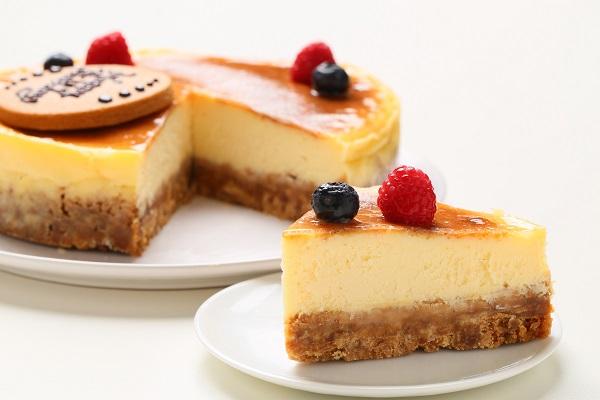 キャラメルチーズケーキ 6号 18cmの画像5枚目