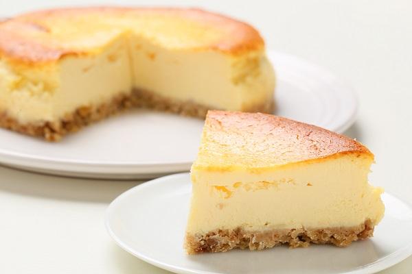 チーズのコクとレモンの爽やかさがマッチ☆ベイクドチーズケーキ 5号 15cmの画像5枚目