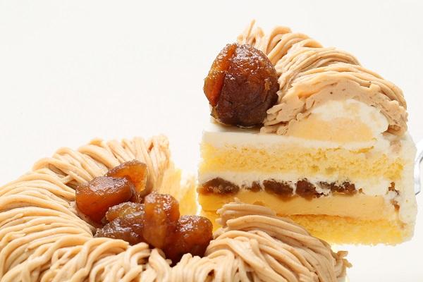 栗のショートケーキ 4号 12cmの画像3枚目