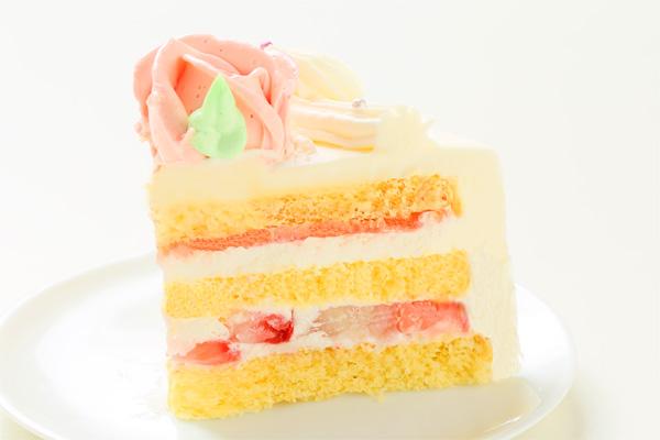 バラのショートケーキ 4号 12cmの画像4枚目