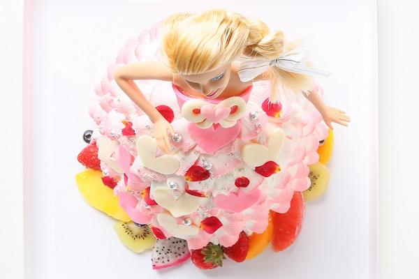 ドールケーキ 底面20cm×高さ18cmの画像2枚目